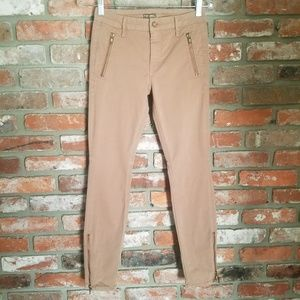 Mother Zip Muse Skinny Jean In Honey Lust